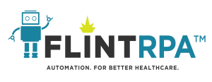 Flint RPA - Automation. For better healthcare.